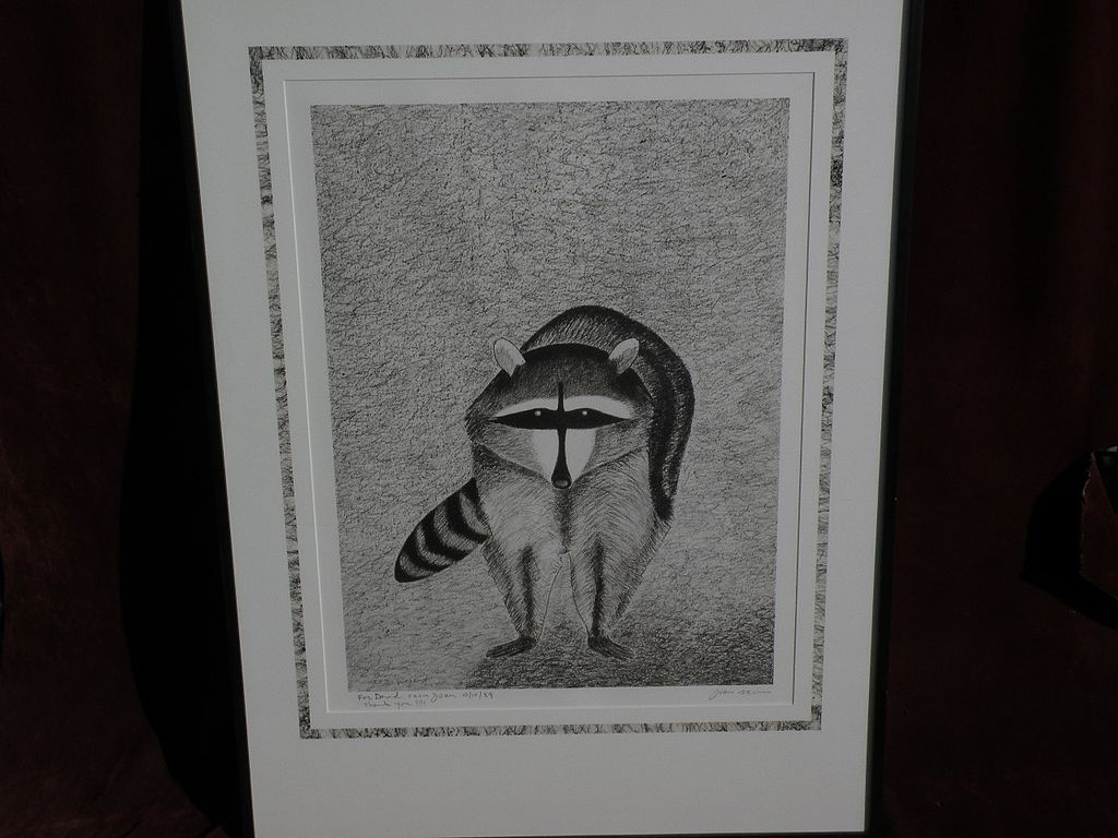 JOAN BROWN (1938-1990) important American contemporary artist limited edition pencil signed print