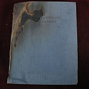 "Signed inscribed art book ""The Etchings and Lithographs of Arthur Bowen Davies"" by Frederic Newlin Price"