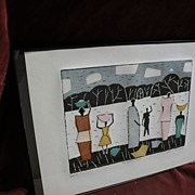 JULIAN TREVELYAN (1910-1989) signed numbered print by well known English modern artist and poe