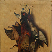 MICHELANGELO MEUCCI (1840-1890) Italian 19th century art large nature morte still life paintin