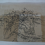 GUY MACCOY (1904-1981) pencil signed modern abstract serigraph by noted California graphic art