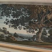 JOSEPH FARINGTON (1747-1821) **PAIR** fine aquatint engravings of English landscape scenery ni