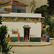 MILFORD ZORNES (1908-2008) fine painting by renowned California Style watercolor master artist