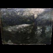 GEORGE THOMPSON PRITCHARD (1878-1962) tonalist impressionist landscape painting