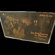 """THEOPHILE-ALEXANDRE STEINLEN (1859-1923) original lithograph """"Les Soliloques du Pauvre.."""""""