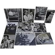 NORMAN COUSINS (1915-1990) collection of ten black and white photos by the noted American ...