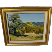 California plein air impressionist landscape painting by contemporary artist Bob Kelsch