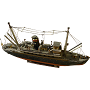 JONATHAN WINTERS (1925-2013) entertainment memorabilia model ship hand made by the well known