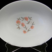 Fire King Fleurette Platter