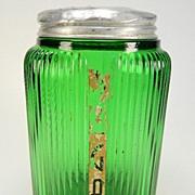Vintage Owens-Illinois Ovoid Sugar Shaker