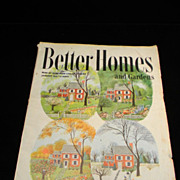 Vintage January 1948 Better Homes and Gardens Magazine