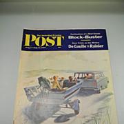 Vintage July 1962 Saturday Evening Post Magazine