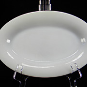 Hard-To-Find Fire King Anchorwhite Restaurant Ware Platter (G307)