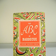 "Vintage 1957 ""The ABC of Barbecue"" Cook Book"