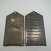 Two Vintage Metal 3 in 1 Lightning Shredders