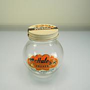 """Vintage """"Hale Groves Orange Marmalade"""" Jar with Original Lid & Label"""