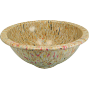 Vintage One Quart Oatmeal Confetti Texas Ware Bowl