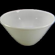 Vintage White 3 Qt. Fire King Splash Proof Bowl