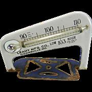Vintage Metal Thermometer