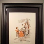 "1915 Cream Of Wheat Ad - ""A Dainty Breakfast"""
