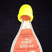 "1955 ""Major Seal"" Bottle Cap in Original Packaging"