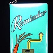 Vintage Reminder Booklet