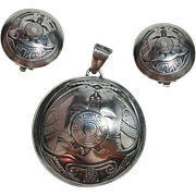 SALE PENDING Vintage Native American TSM, Mimbres Miniatures Collection, Sterling Silver Turtl