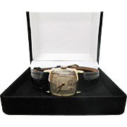 SALE Vintage 1940s Mens /Unisex Wittnauer-Longines watch 10kt gold filled