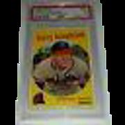 SALE 1959 Harry Hanebrink Topps baseball card #322 PSA VG 3 (no trade statement)