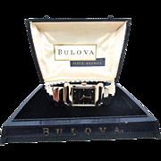 SALE Vintage 1956 Mens Bulova Craftsman model original case MUST SEE MINTY!!!
