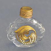 SALE Vintage, Jeweled, Mini, Purse Perfume / Scent Bottle