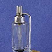 SALE Sleek! Circa 1935, Czech / Czechoslovakian, Made for De Vilbiss, Mist, Atomizer Perfume /
