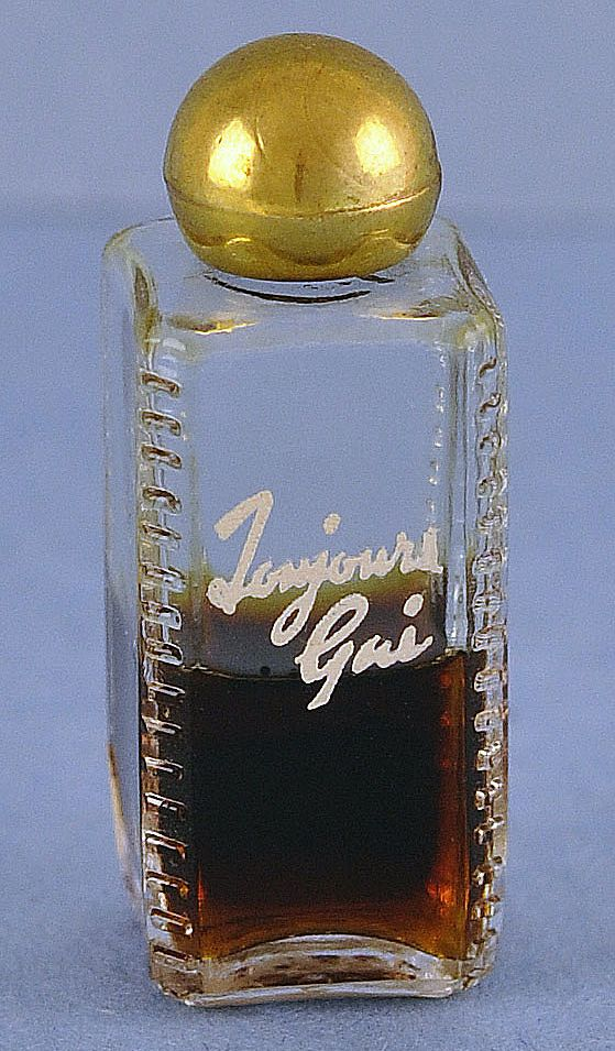"Super! American, Circa 1929, ""Toujours Gai"" by Armand Duval, Mini, Commercial Perfume Bottle"