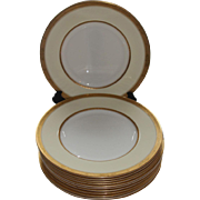 REDUCED 12 Royal Worcester Diana Dinner Plates Burley & Co. Chicago