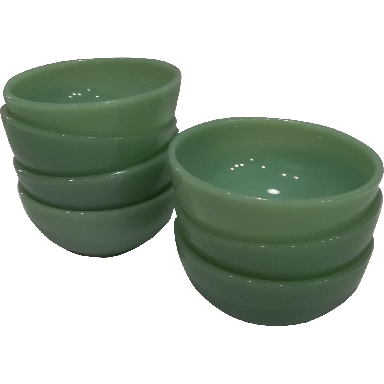 Fire King Jadeite Chili Bowls from jkqualityproducts on ...