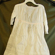 SALE PENDING Antique child's dress for a large doll