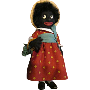 Captivating Golliwog girl doll by R.John Wright limited edition