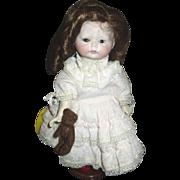 Charming Grump bisque doll