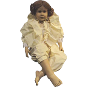 "Hildegard Gunzel 28"" barefoot child"