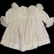 Beautiful antique dress with  bretelles