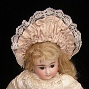 SOLD Sweet vintage French doll hat for a small doll