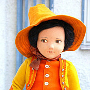 "SALE Large 23"" Norah Wellings Gaucho Doll"