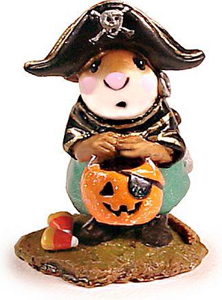 Wee Forest Folk Sculpture - Little Pirate Kidd