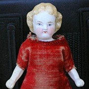 German antique All-bisque doll 4.25""