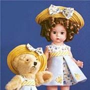 "SALE Madame Alexander ""Teddy & Me Collecting Bears"""