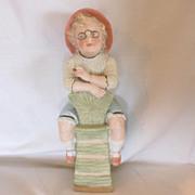 Gebruder Heubach German Bisque Figurine of Young Boy