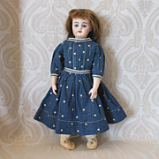 Simon & Halbig German Bisque Head 949 Character Doll