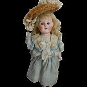 Sweet German Bisque Head Doll by Schoenau & Hoffmeister