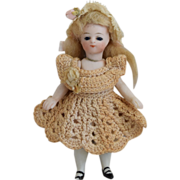 SALE French Style All Bisque Mignonnette Doll in Petite Size