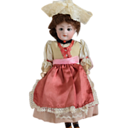 All Original Simon & Halbig Bisque Head Doll in Ethnic Costume